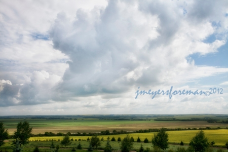 Big Clouds_Big Sky, Southern Alberta