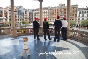 Dancing in Pamplona to Basque Music