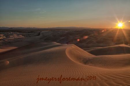 Imperial Sand Dunes Arizona