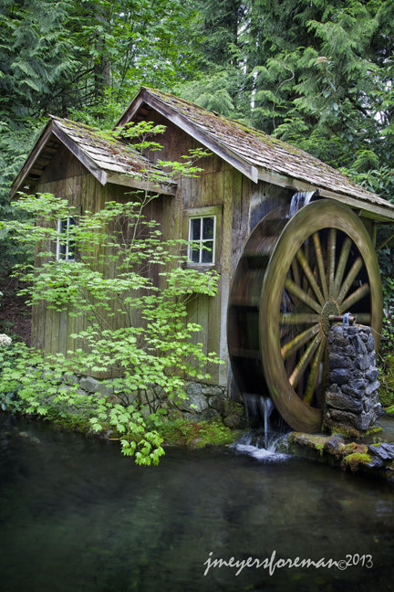 Water Wheel; Minter Gardens, Chilliwack BC