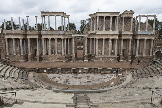 Roman Amphitheater, Merida Spain