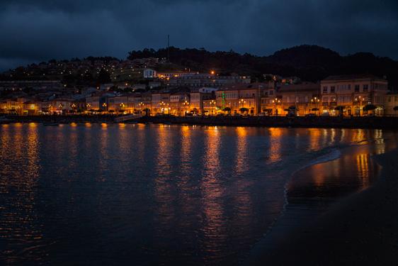 Evening Stroll, Baiona Spain