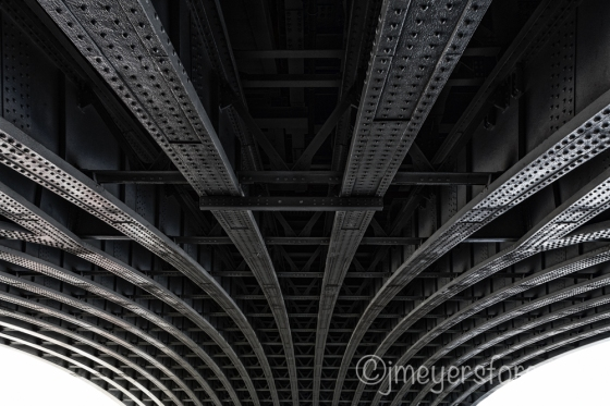 Steel, Architectural Lines and Bridges, copyright jmeyersforeman