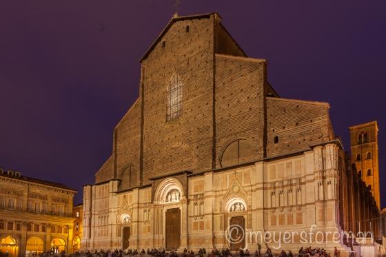 San Petronio, Bologna Italy, copyright jmeyersforeman