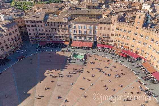 Piazza del Campo; Siena Italy; copyright jmeyersforeman