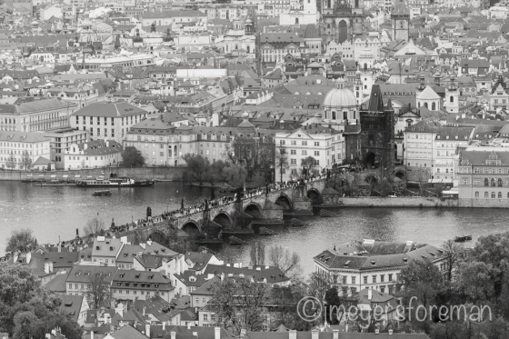 Charles Bridge Prague Hungary; copyright jmeyersforeman 2014